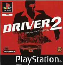 Driver 2 PS1 (PAL) Used In Good Condition Box Is Slightly Damaged Without Manual