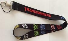 MOBILE PHONE/IDENTITY CARD LANYARD NECK STRAP COLOURED TRANSFORMERS