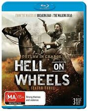 Hell On Wheels - Season 3 = NEW Blu-Ray
