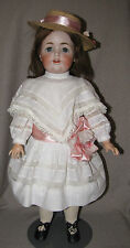 "26"" Antique Bisque Character Child Doll JDK 260 - 64 Kestner Red Stamped Body"