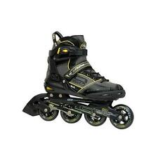 NEW!ROLLER DERBY AERIO Q60 INLINE SKATES MEN'S 10 Q-60 ROLLERBLADE ABEC 7 return