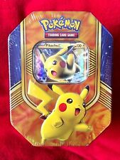 Pokemon Ex-Pikachu TCG -4 Booster Packs Trading Card Game-Collectible Tin-*NEW*