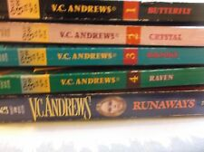 Orphans Series V C Andrews 5 PBS Butterfly Crystal Brooke Raven Runaways