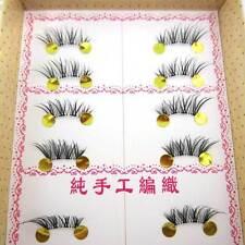 HOT SG04 10 pairs/lot handmade Cross False Eyelashes HALF MINI CORNER eye lashes