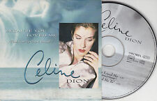 CD CARDSLEEVE CELINE DION BECAUSE YOU LOVED ME 2T 1996 BO FILM