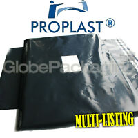 Grey 'PRO-PLAST' Brand Strong Poly Postal Postage Mailing Bags - ALL SIZES/QTY'S