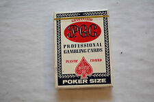 LAS VEGAS Professional Gambling Cards PGC POKER size Playing Cards blue deck