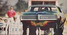 1968 PONTIAC GTO FUNNY CAR  -  RON GAY  ~  NICE SMALLER MAGAZINE PHOTO / PICTURE