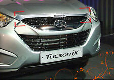 Chrome Front Hood Garnish For 10 11 Hyundai Tucson ix35