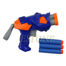 Children Toy Dart Gun Blaster Soft Bullet Game With Refill Darts Sniper New
