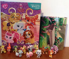 DISNEY PRINCESS PALACE PETS MY BUSY BOOKS WITH 12 CHARACTER FIGURES BNIB