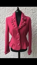 "MOSCHINO pink ""Bobble Button"" Jacket. Size 14. Next to new condition."