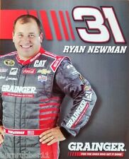 "2016 RYAN NEWMAN ""GRAINGER RACING RCR"" #31 NASCAR SPRINT CUP POSTCARD"