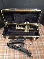 Bach TR300 Student Trumpet Very Nice Instrument One Dent W/ Case