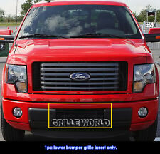 For 2009-2014 Ford F-150 F150 Bumper Black Billet Grille Grill Insert