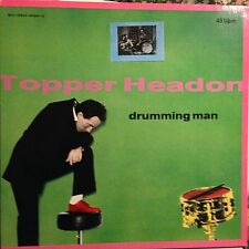 TOPPER HEADON ¥ Drumming Man • Vinile 12 Mix • 1985 Mercury