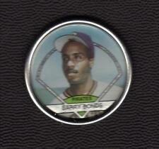 1990 Topps Coin # 40 Barry Bonds Pirates San Francisco Giants