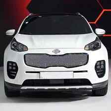 Honeycomb Style Front Grille Grill Mesh Cover For Kia Sportage 4th Gen 2016 2017