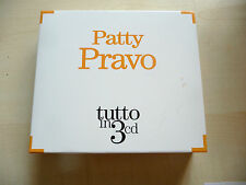 CD  - PATTY PRAVO - TUTTO IN 3 CD - RCA SONY 2011