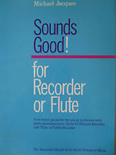 Sounds Good! For Recorder Or Flute Piano 1992 Edition Book ABRSM Grades 1-3 B83