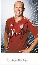 Arjen Robben Autogrammkarte FC Bayern München 2011-12 Original Signiert +C 791