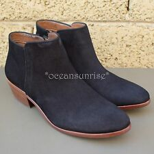 Sam Edelman 'PETTY' Bootie Black Suede Leather Size 8.5
