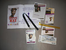 CHRISTOPHE MAE PASS BACKSTAGE VIP concert tour 2014 Collector Rare