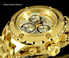 NEW Invicta 52MM Reserve Specialty Subaqua SILVER Dial GoldTone Bracelet Watch