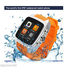 "1.54"" IMacwear Waterproof M7 Bluetooth Smart Watch Android Phone GSM GPS +CAMERA"