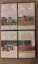 vintage tractors,rallys & working vhs videos by couplands