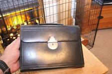A Superb Antique Leather Smaller Size Briefcase Ideal For Men Or Women