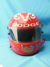 JEREMY MAYFIELD RACE USED 19 MUPPETS BEAKER HONEYDEW DODGE DRIVER HELMET 2002