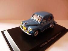 voiture 1/43 Eligor renault : 4 CV N°42 Liege/Rome 1955