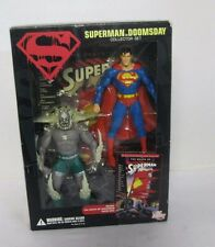 Superman vs Doomsday Collector Set DC Direct Graphic Novel The Death of Superman
