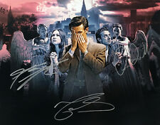 Doctor Who Autographed 11x14 Cast Photo signed by Matt Smith & Karen Gillan T6