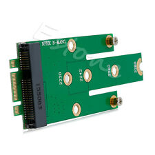 mSATA Mini PCI-E 3.0 SSD to NGFF M.2 B Key SATA Interface Adapter Card New