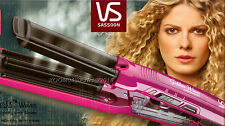 VS SASSOON GODDESS WAVE HAIR CURLING IRON WAVER CRIMPER WITH IONIC STEAM