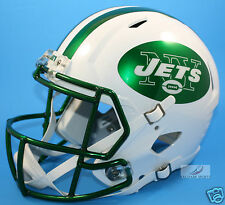NEW YORK JETS (COLOR-RUSH CHROME) Riddell Full Size Speed REPLICA Helmet