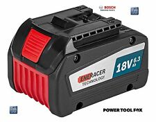 4 ONLY! Bosch COOL PACK GBA 18V 6.3AH EneRACER BATTERY 1600A00R1A 3165140885720