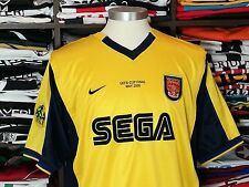 ARSENAL away 1999/01 shirt - BERGKAMP # 10 -Holland-Inter Milan-Ajax-Jersey