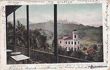 # RECOARO: VILLA TONELLO VISTA DALLA TERRAZZA DELL'ALBERGO VISENTINI ...1903