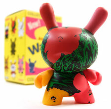 "Kidrobot ANDY WARHOL DUNNY SERIES - FLOWERS 3"" Mini Vinyl Figure NEW"