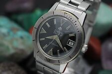 Vintage ZODIAC Sea Wolf Automatic 20ATM Stainless Steel Diver's Watch