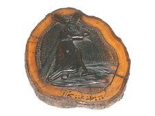 Christus Kreuzgang Olivenholz ca. um 1900