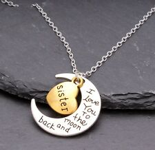 SPECIAL SISTER GIFT Love Heart for Birthday Best Xmas Present In Law Step SN04