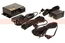 IR Remote Repeater Extender System Kit - 4 Infrared Hidden 2 Emitter 1 Receiver
