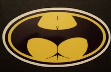 Logotipo Buttman (Batman) Gracioso Pegatina Tablet Laptop Guitarra 186