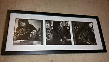 Asking Alexandria band signed autograph framed