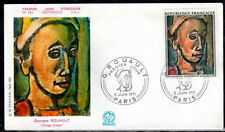 FRANCE FDC - 1673 1 TABLEAU GEORGES ROUAULT 1971