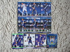 PANINI adrenalyn 2014 CHAMPIONS LEAGUE 2015 anderlecht master, one ,rising